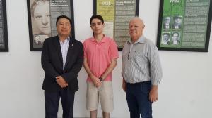 Visita do Dr. Guilherme Santos Piedade