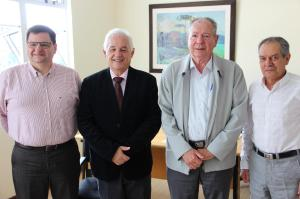 Visita do Dr. Avelino Ricardo Has