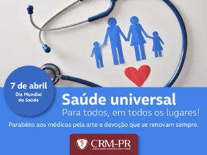 Universalidade, tema do Dia Mundial da Saúde deste ano