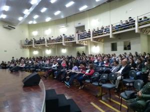 Julgamento simulado reúne 438 participantes em Pato Branco