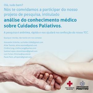 Médico, participe de pesquisa sobre Cuidados Paliativos
