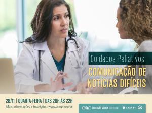 Comunicação de Notícias Difíceis em Cuidados Paliativos