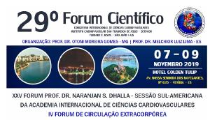 29º Forum Científico Congresso Internacional de Ciências Cardiovasculares