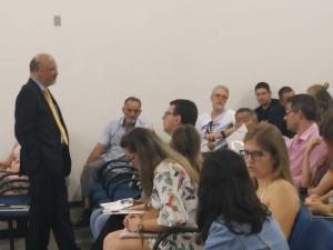CRM-PR realiza palestra na Unioeste Francisco Beltrão sobre uso das redes sociais