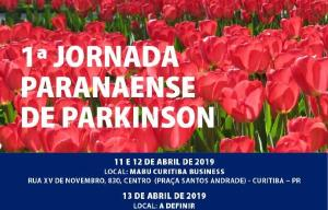 Primeira Jornada Paranaense de Parkinson será realizada em Curitiba, de 11 a 13 de abril
