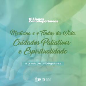 Palestra sobre Cuidados Paliativos e Espiritualidade com padre Renzo Pegoraro na PUCPR