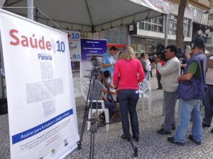 Mobilização Saúde +10 na Boca Maldita