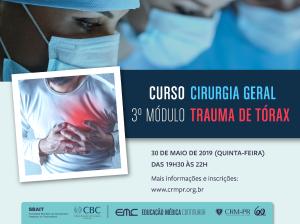 Cirurgia Geral - 3º Módulo: Trauma de Tórax