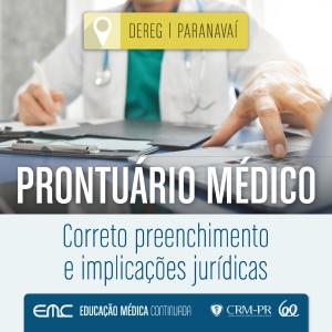 Palestra: Prontuário Médico - correto preenchimento e implicações jurídicas