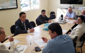 Dereg Metropolitana faz visita a hospitais de Pinhais, Campo Largo e Lapa