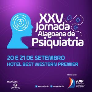 XXV Jornada Alagoana de Psiquiatria