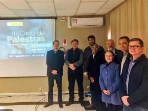 CRM-PR realiza III Ciclo de Palestras em Rio Negro e Mafra, com 64 participantes