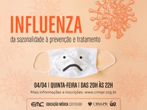 Influenza: da sazonalidade à prevenção e tratamento