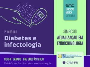 Atualização em Endocrinologia 2019: Diabetes e Infectologia