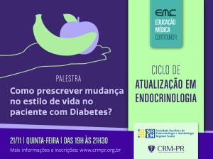 Atualização em Endocrinologia 2019: estilo de vida e diabetes