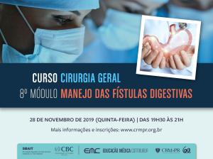 Cirurgia Geral - 8º Módulo: Manejo das Fístulas Digestivas