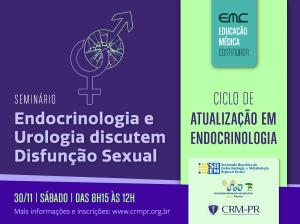 Endocrinologia e Urologia discutem Disfunção Sexual