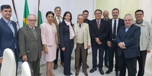 CRM-PR recebe representantes da Sociedade Brasileira e Associação Paranaense de Oftalmologia