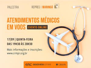 Palestra: Atendimentos Médicos em Voos