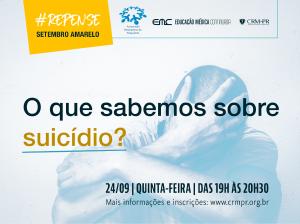 Palestra: O que sabemos sobre o suicídio?
