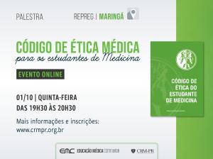 Palestra: Código de Ética Médica para os estudantes de Medicina