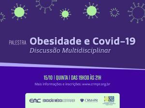 Palestra: Obesidade e Covid-19 - Discussão Multidisciplinar