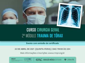 Cirurgia Geral - 2º Módulo: Trauma de Tórax