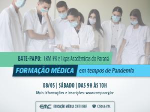 Bate-papo do CRM-PR com as Ligas Acadêmicas do Paraná