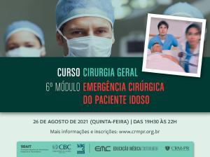 Cirurgia Geral - 6º Módulo: Emergência cirúrgica no paciente idoso