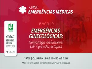 Emergências Médicas - 1º módulo: Ginecologia