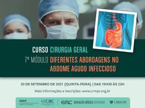Cirurgia Geral - 7º Módulo: Diferentes abordagens do abdome agudo infeccioso