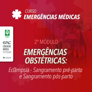 Emergências Médicas - 2º módulo: Obstetrícia