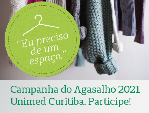 Campanha do Agasalho da Unimed Curitiba reforça a solidariedade e o tempo de cuidar