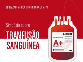 Simpósio sobre transfusão de sangue