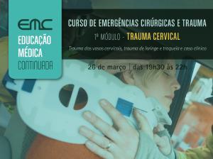 Emerg. 1º módulo: trauma cervical