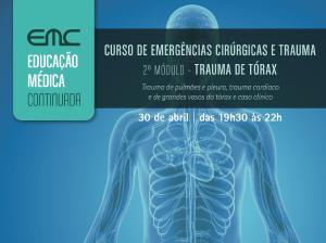 Emerg. 2º módulo: trauma de tórax