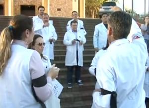 Paraná TV 2ª edição: Manifestação em Foz