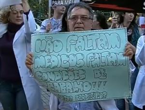 Paraná TV 2ª edição: Manifestação Maringá
