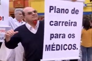 Jornal da Massa: novo protesto de médicos