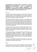 Protocolo sobre relações entre o médico e a indústria farmacêutica (2012)