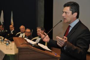 Palestra com juiz Sergio Moro na AMP