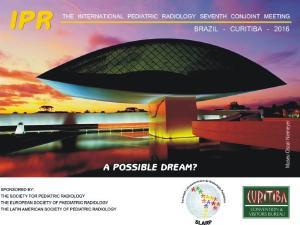 Congresso Mundial de Radiologia Pediátrica poderá ser realizado em Curitiba