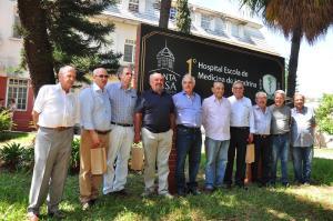 Santa Casa homenageia integrantes da primeira turma de Medicina da UEL