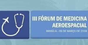 Conselho Federal realiza em março III Fórum de Medicina Aeroespacial
