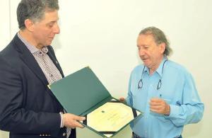 Médico pioneiro de Corbélia recebe homenagem pelo Jubileu de Ouro