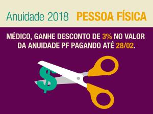Prazo para pagar anuidade PF com 3% de desconto termina na próxima quarta (28/02)