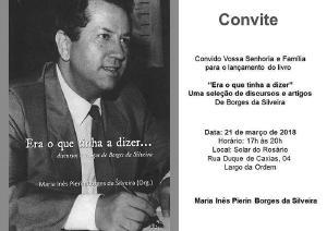 Livro sobre ex-ministro da Saúde será lançado em Curitiba