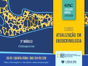 Atualização em Endocrinologia - 3º módulo: Osteoporose