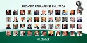 Em menos de três meses, quase dobra número de médicos mortos pela Covid-19 no Paraná