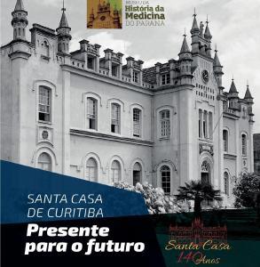 Museu da História da Medicina do PR lança livro em homenagem aos 140 anos da Santa Casa de Curitiba